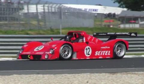 Video Ferrari 333SP in Action