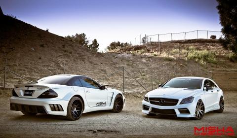 Video Misha Designs Mercedes SL Widebody and CLS
