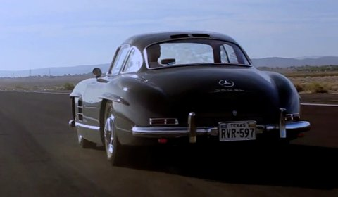 Video Of The Day Poetry in Motion - Mercedes 300SL Gullwing