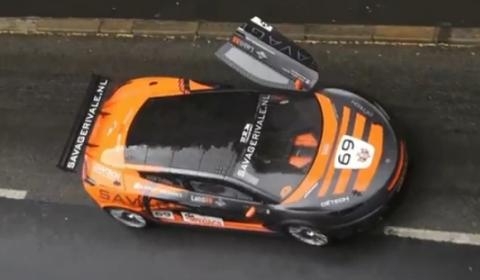 Video Supercar Parade Le Mans 2012