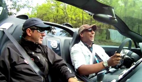 Video Test Driving the Bugatti Vitesse Grand Sport