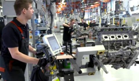 Video Virtual Tour of Mercedes-AMG Headquarters in Affalterbach
