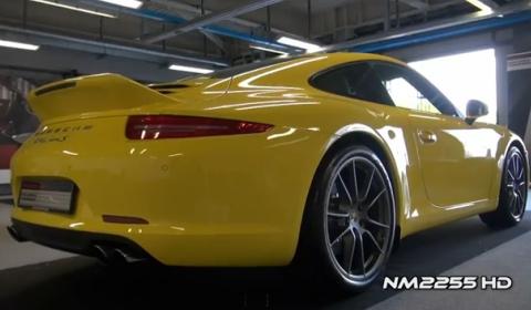 Video Yellow Porsche 911 991 Carrera S 430hp by Porsche Exclusive
