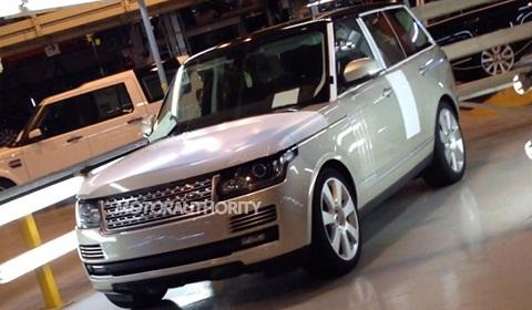 2013 Range Rover Leaked