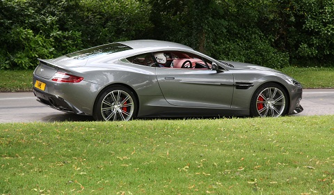 Aston Martin AM 310 Vanquish at Goodwood Festival of Speed 2012