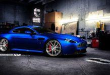 Aston Martin V8 Vantage on ADV.1 Wheels