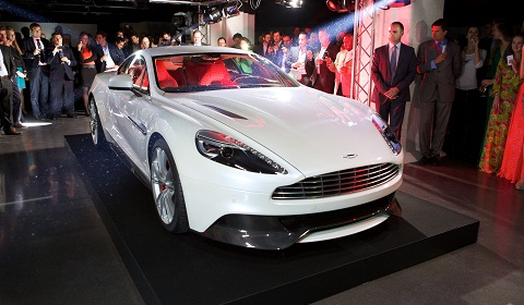 Aston Martin Vanquish Formally Unveiled in London