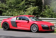 Audi R8 E-tron Crashes at Nurburgring