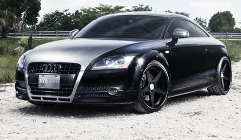Audi TT on 360 Forged Concave Straight 5 Wheels