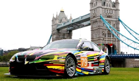 BMW Art Cars Exhibit at 2012 London Olympics