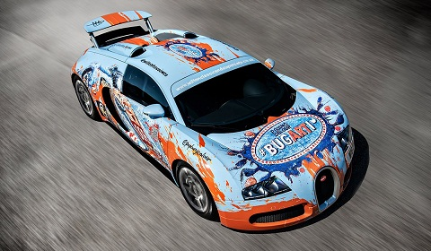 Bugarti Veyron for Wilton Classic and Supercars 2012