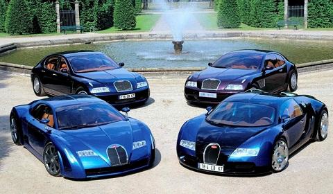 Bugatti Veyron History