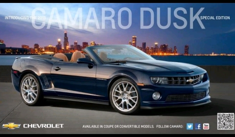 Chevrolet Previews Camaro Dusk Special Edition
