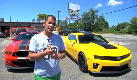 Chris Harris Drives the Ford Shelby GT500 and Chevrolet Camaro ZL1 Stateside