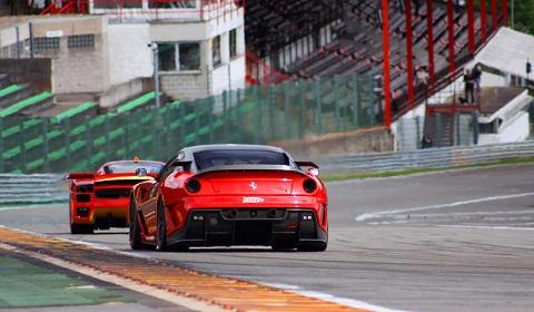 Corse Clienti at Spa Francorchamps