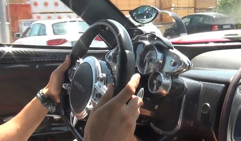 Epic Pagani Huayra Ride in Italy