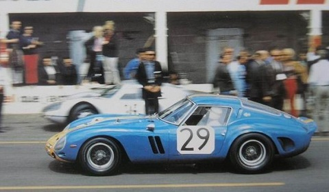 Ferrari 250 GTO Wrecked in France