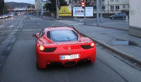 Ferrari 458 Challenge on the Road!