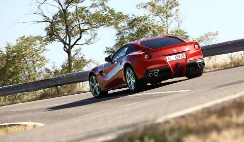 Ferrari F12 Berlinetta Media Day