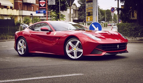 Ferrari F12 Berlinetta in Maranello