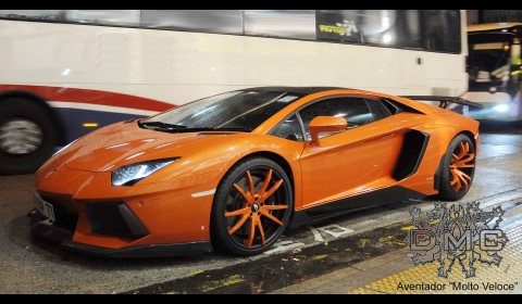 Aventador Wing on Aventador Dressed In The Molto Veloce Body Kit On Their Facebook Page