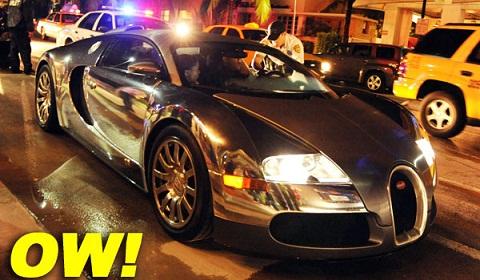 Flo Rida Chrome Bugatti
