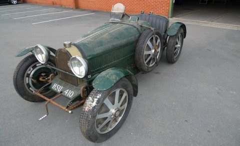 For Sale Fake Bugatti Type 51 Racer to be Auctioned 02