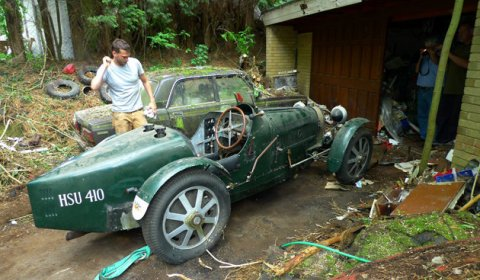 For Sale Fake Bugatti Type 51 Racer to be Auctioned