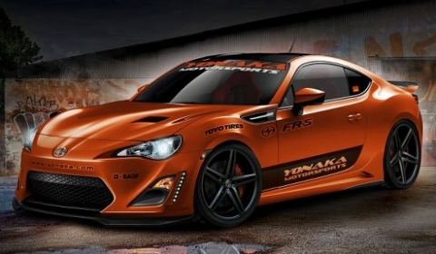 Fox Marketing Releases First Rendering 2013 Scion Canada FR-S