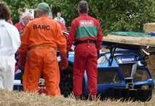 Gumpert Apollo S Crash at Goodwood Festival of Speed 2012