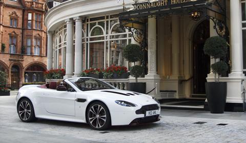 Aston Martin V12 Vantage Roadster Spotted