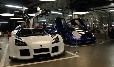 London Motor Museum Supercar Paddock