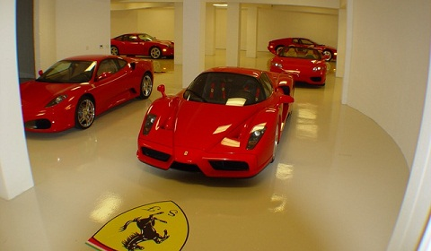 Mansion With Supercar Garage