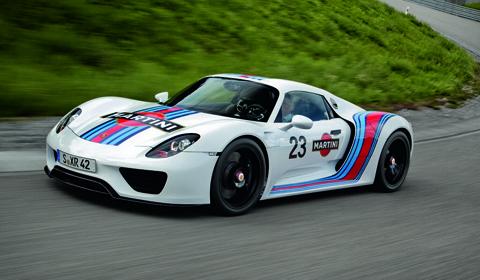 Martini Racing Porsche 918 Spyder Prototype