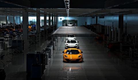 McLaren Factory by Night Photo Shoot