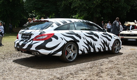 Mercedes-Benz CLS 63 AMG Shooting Brake Mule