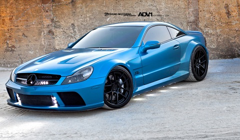 Mercedes-Benz SL65 AMG Black Series on ADV.1 Wheels