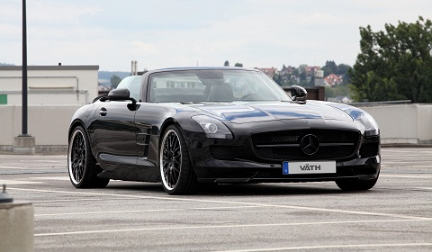 Mercedes-Benz SLS AMG Roadster by Väth
