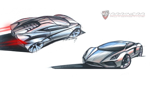 New Arrinera Supercar Sketches Revealed