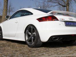 Official Audi TT-RS Inconel Rear Muffler by Eisenmann