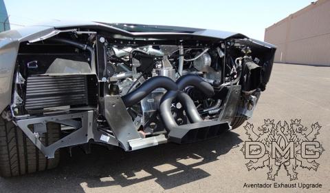 Official DMC Exhaust System for Lamborghini Aventador LP700-4