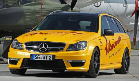 Official Mercedes-Benz C63 AMG Estate by Wimmer