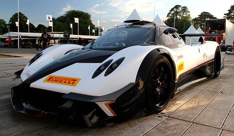 Pagani at Goodwood Festival of Speed 2012