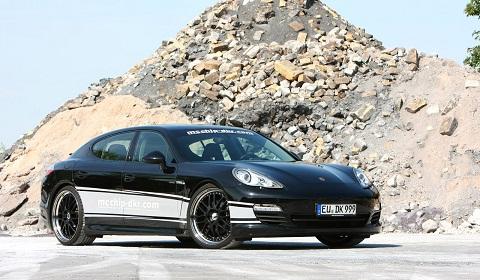 Porsche Panamera Diesel by McChip-DKR