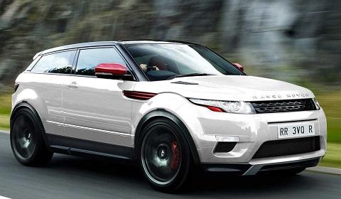 Range Rover Evoque R Rendering