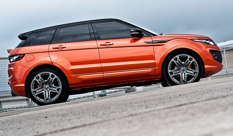 Range Rover Evoque RS250 Vesuvius by A. Kahn Design