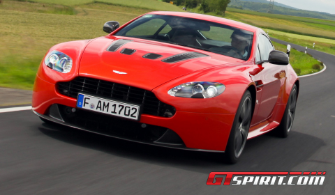 Road Test Aston Martin V12 Vantage