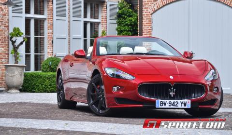 Road Test 2011 Maserati GranCabrio Sport 01
