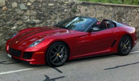 Spotted One-off Ferrari GT Aperta
