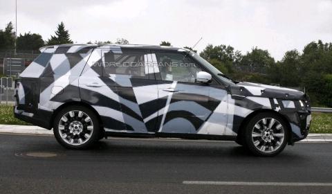 Spyshots 2013 Range Rover LWB